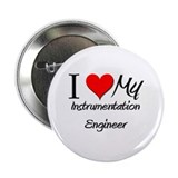 I Heart My Instrumentation Engineer 2.25&quot; Button