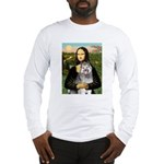 Mona's Keeshond (E) Long Sleeve T-Shirt