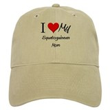 I Love My Equatoguinean Mom Baseball Cap