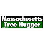 Massachusetts Tree Hugger Sticker