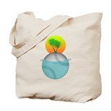 Baseball Paradise Tote Bag