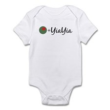 Olive YiaYia Baby Onesie