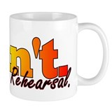 Rehearsal Dancer Small Mug