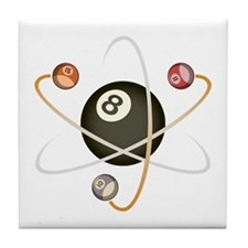 Billiard Atom Tile Coaster