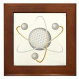 Golf Atom Framed Tile