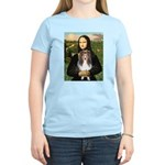Mona Lisa's Sheltie (S) Women's Light T-Shirt