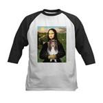 Mona Lisa's Sheltie (S) Kids Baseball Jersey