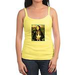 Mona Lisa's Sheltie (S) Jr. Spaghetti Tank