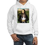 Mona Lisa's Sheltie (S) Hooded Sweatshirt