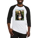 Mona Lisa's Sheltie (S) Baseball Jersey