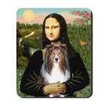 Mona Lisa's Sheltie (S) Mousepad