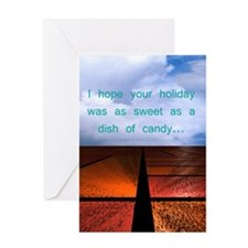 Dish of Candy Greeting Card