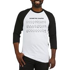 Geometric Shapes Baseball Jersey