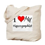 I Heart My Hypsographist Tote Bag