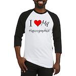 I Heart My Hypsographist Baseball Jersey
