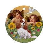 Angels & Cavalier Keepsake (Round)