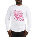 Sprinkle of Hearts Long Sleeve T-Shirt