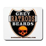 GREY BEARDS RATS Mousepad