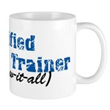 Certified Personal Trainer nta Small Mug