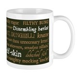 Shakespeare Insults Small Mug