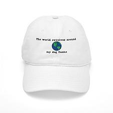 World Revolves Around Cosmo Baseball Cap