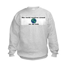 World Revolves Around Luke Sweatshirt