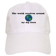 World Revolves Around Cocoa Baseball Cap