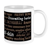 Shakespeare Insults Coffee Mug