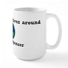 World Revolves Around Spencer Mug
