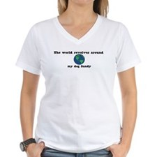 World Revolves Around Sandy Shirt