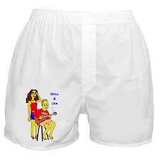 Mike and Jax Boxer Shorts
