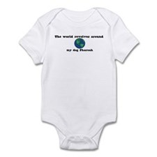 World Revolves Around Pharoah Infant Bodysuit