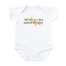 Son named Hershey Infant Bodysuit