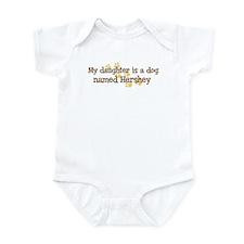 Daughter named Hershey Infant Bodysuit