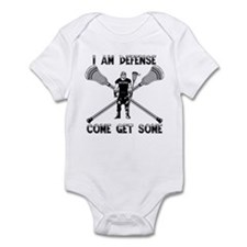 Lacrosse Defense GETSOME Infant Bodysuit