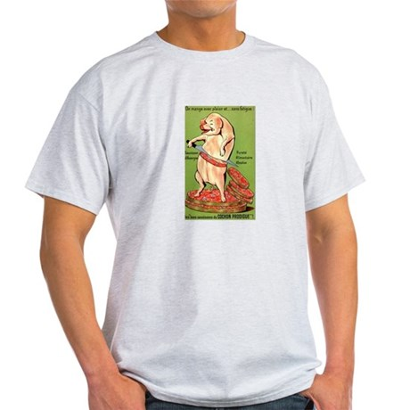 Vintage Pig Sausage Ad Light T-Shirt