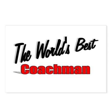 &quot;The World's Best Coachman&quot; Postcards (Package of 