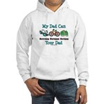 Dad Triathlete Triathlon Hooded Sweatshirt