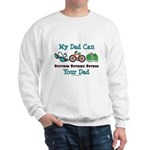 Dad Triathlete Triathlon Sweatshirt