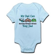 Dad Triathlete Triathlon Infant Bodysuit