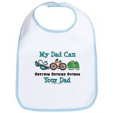 Dad Triathlete Triathlon Bib