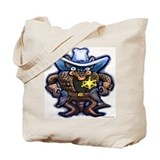 Unique Wild west Tote Bag