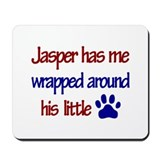 Jasper - Wrapped Around His L Mousepad