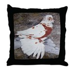 Pageant Champion Pigeon Throw Pillow