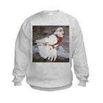 Pageant Champion Pigeon Kids Sweatshirt