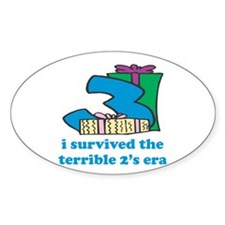 Three: I Survived The Terrible Two's Decal