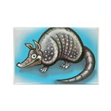 Cool Texas armadillos Rectangle Magnet