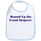 Usual Suspects 1 Bib