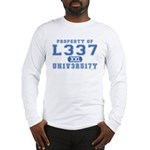 l337 un1v3r51ty Long Sleeve T-Shirt