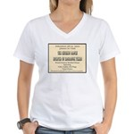 Chicken Ranch Brothel Women's V-Neck T-Shirt